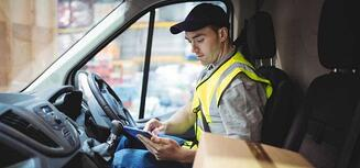 delivery fleet driver