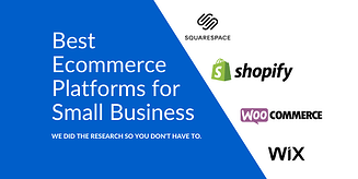 Best 4 Ecommerce Platforms for Small Businesses in 2021