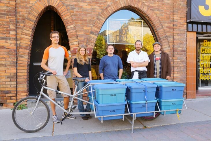 Zero Waste Grocery Delivery - On the Move Organics