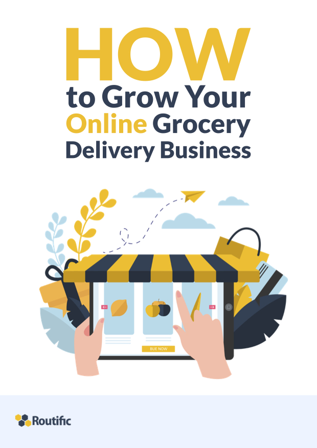 How to grow your online grocery delivery business_cover page