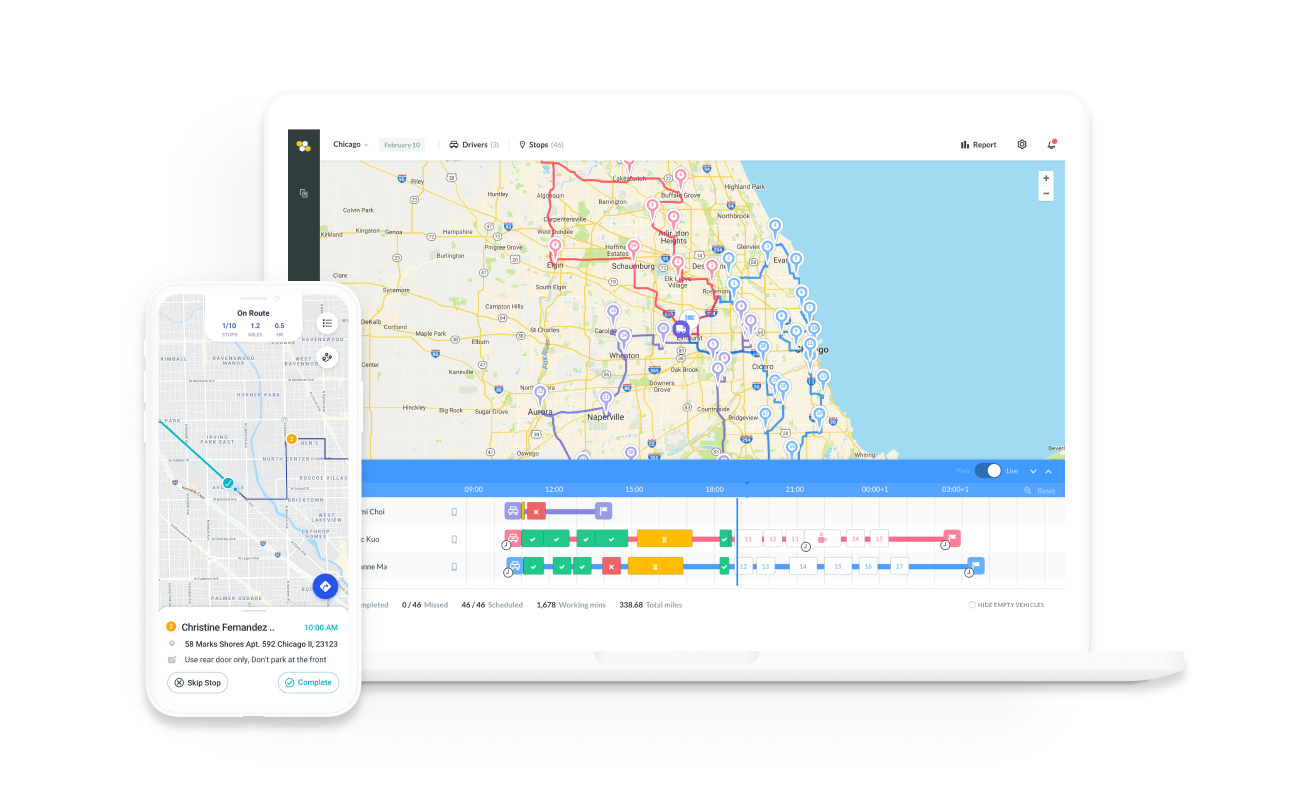 Routific App and Product