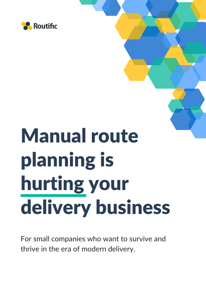 Delivery route planning shouldn't take hours