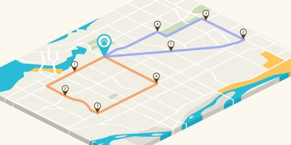 google map route optimization